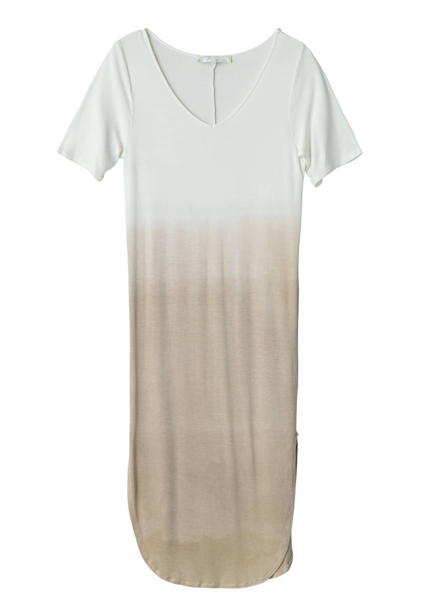 FWSS - Sisters Dress Feather Gray Ombre