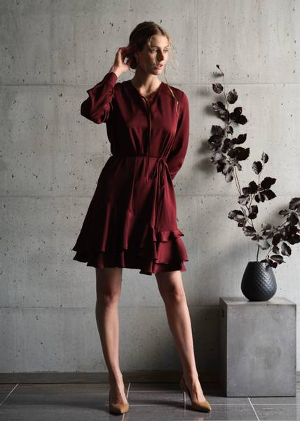 Bilde av RICCOVERO - Wilma Dress Dark