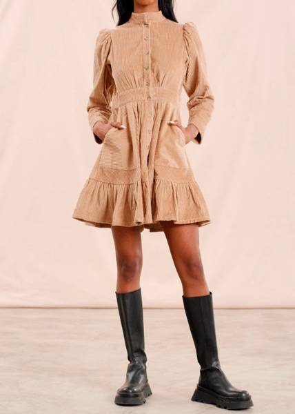 Bilde av BYTIMO - Corduroy Mini Dress