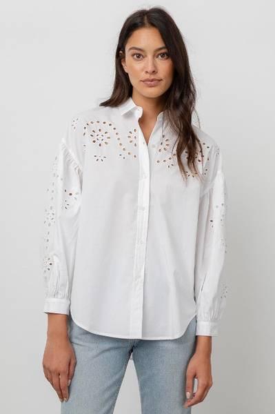Bilde av RAILS - Alister Shirt White