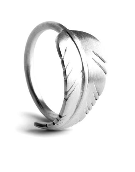 Bilde av JANE KØNIG - Leaf Ring Silver