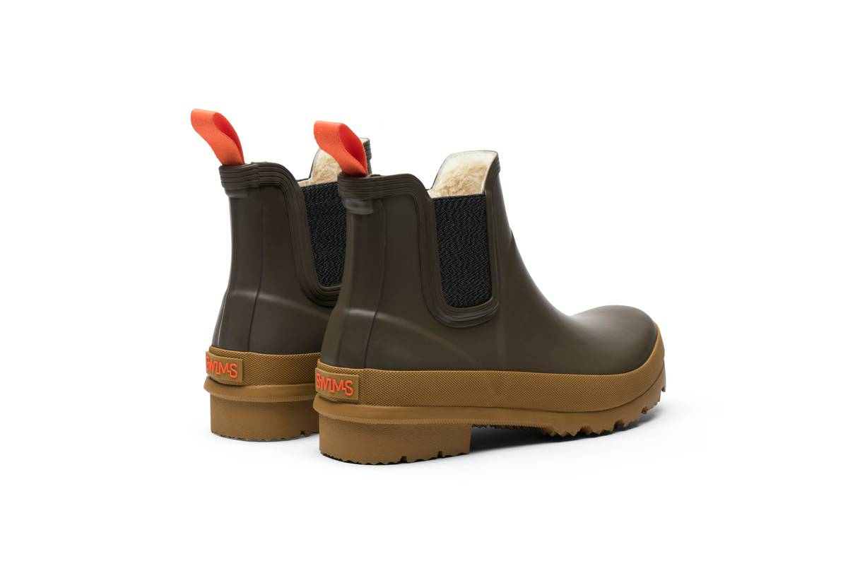 SWIMS - W Charlie Boot Taupe/Biscuit
