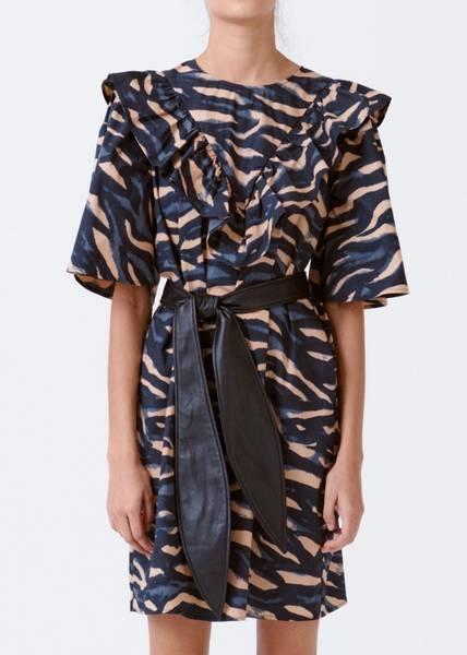 Bilde av MUNTHE - River Dress Caramel